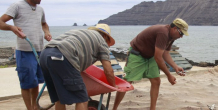 Craft traditions are maintained on the island of La Graciosa